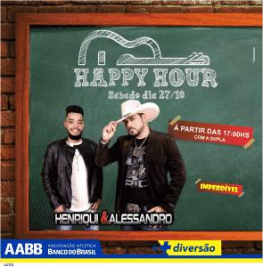 happy hour GUSTAVO NETTO e luciana