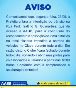 AVISO AABB